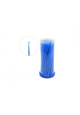 Disposable micro swab brush applicator, 100pcs