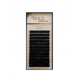Gold 0,07 ir 0,10mm blakstienos, MIX